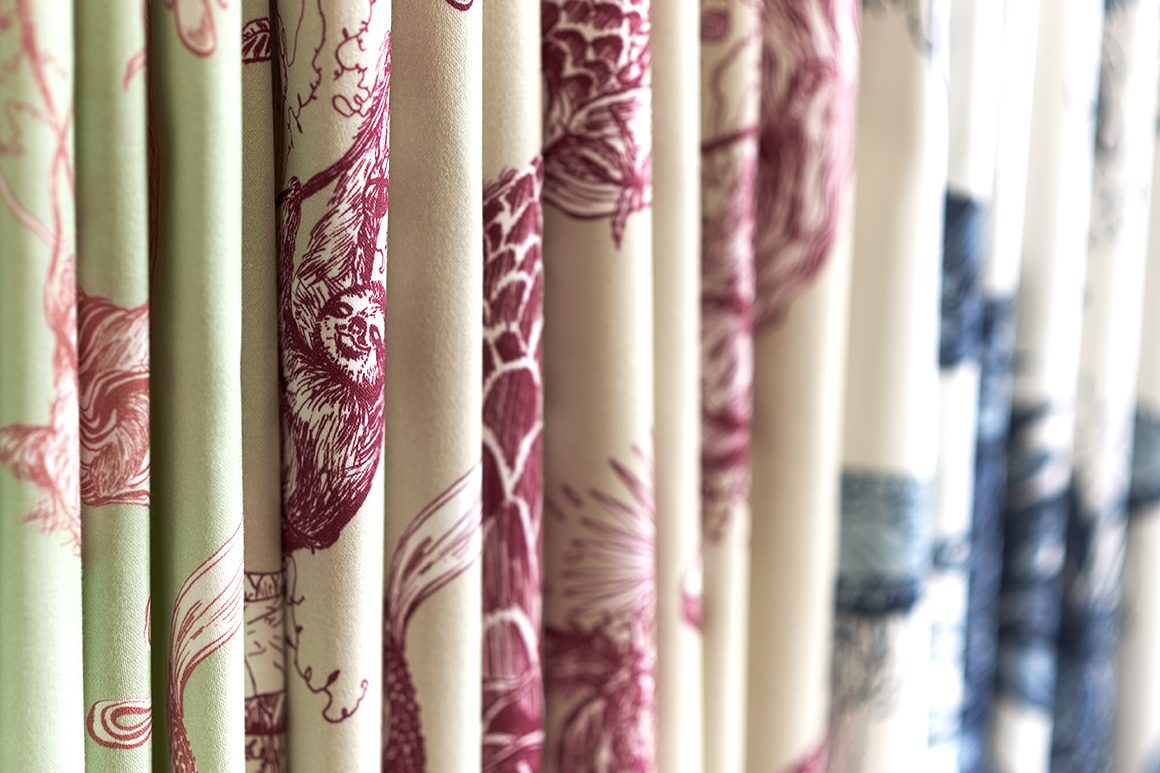 Curtain fabric by Cocoon Home