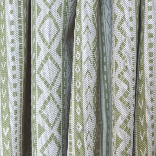 Curtain Fabric by Cocoon Home - Kuba Cloth