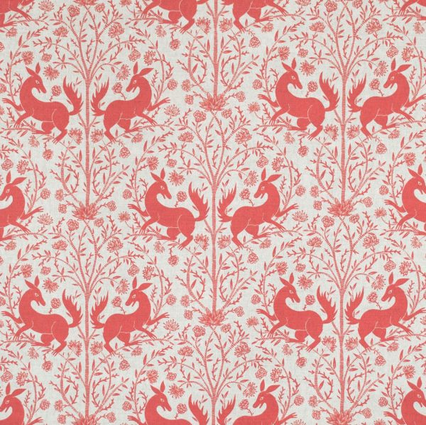 Curtain Fabric Upholstery Fabric Red curtain fabric Cocoon Home Forbidden Fruit