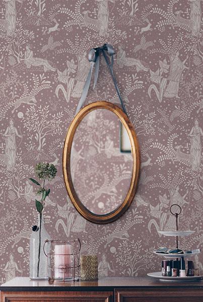 Wallpaper, Curtain fabric, Unique Wallpaper, Unusual wallpaper