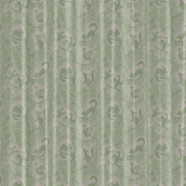 Arbol del Paraiso Curtain Fabric